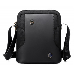 ARCTIC HUNTER τσάντα ώμου K00096-BK, με θήκη tablet, μαύρη K00096-BK