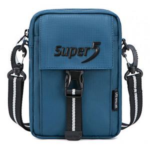 SUPER FIVE τσάντα ώμου K00104-BL, μπλε K00104-BL