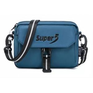 SUPER FIVE τσάντα ώμου K00106-BL, μπλε K00106-BL