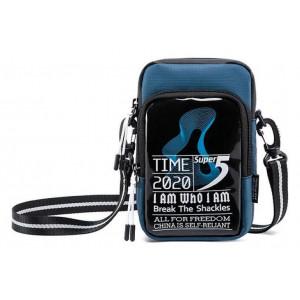 SUPER FIVE τσάντα ώμου K00110-BL, μπλε K00110-BL