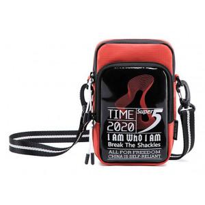 SUPER FIVE τσάντα ώμου K00110-OR, κόκκινη K00110-OR