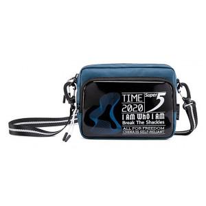 SUPER FIVE τσάντα ώμου K00111-BL, μπλε K00111-BL
