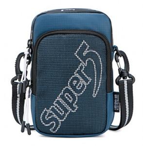 SUPER FIVE τσάντα ώμου K00122-BL, μπλε K00122-BL