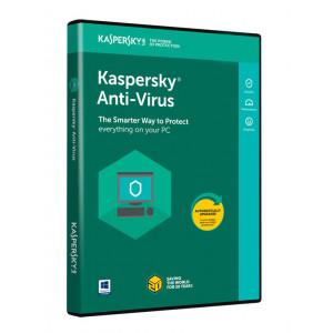 KASPERSKY Anti-Virus 2018, 3 Αδειες, 1 ετος, English KAV3118