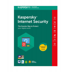 KASPERSKY Internet Security 2018, 5 Αδειες, 1 ετος, English KIS5118