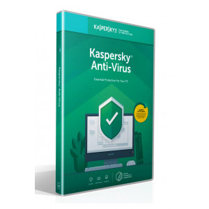 KASPERSKY Anti-Virus 2019, 3 συσκευές, 1 έτος, EU, DVD Box KL1171U5CFS-9MSB
