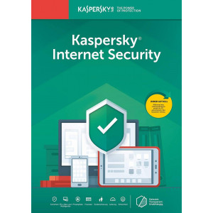 KASPERSKY Internet Security KL1939U5AFS-20FFP, 1 συσκευή, 1 έτος, EU KL1939U5AFS-20FFP