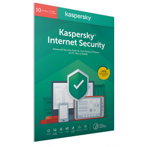 KASPERSKY Internet Security KL1939U5KFS-20FFPDSG, 10 συσκευές 1 έτος, EU KL1939U5KFS-20FFPDSG