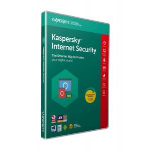 KASPERSKY Internet Security 2019, 1 Άδεια, 1 έτος, EU KL1941U5AFS-8MSB