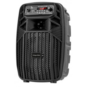 KRUGER&MATZ Φορητό ηχείο ΚΜ0554, bluetooth, USB, FM Radio, μαύρο KM0554