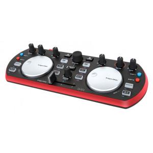 KRUGER&MATZ DJ Controller KMDJ001, μαύρο-κόκκινο KMDJ001