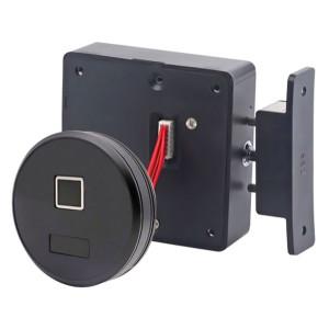 KERONG ηλεκτροπύρος KR-S8064RF, με fingerprint, μαύρος KR-S8064RF