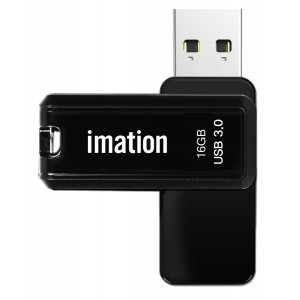 IMATION USB Flash Drive Nano Pro II KR03020005, 16GB, USB 3.0, μαύρο KR03020005