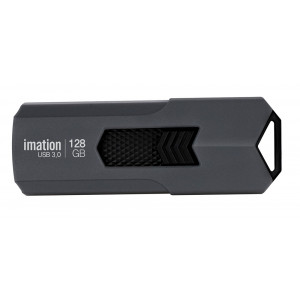 IMATION USB Flash Drive Iron KR03020024, 128GB, USB 3.0, γκρι KR03020024