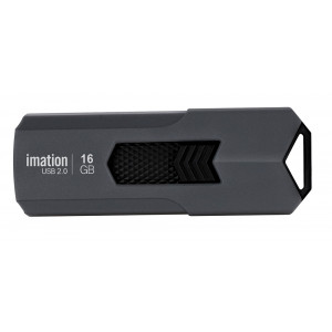 IMATION USB Flash Drive Iron KR03020045, 16GB, USB 2.0, γκρι KR03020045