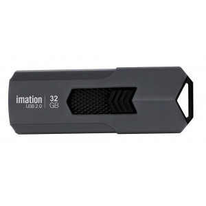 IMATION USB Flash Drive Iron KR03020046, 32GB, USB 2.0, γκρι KR03020046