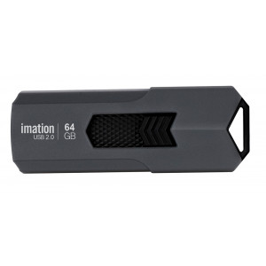 IMATION USB Flash Drive Iron KR03020047, 64GB, USB 2.0, γκρι KR03020047