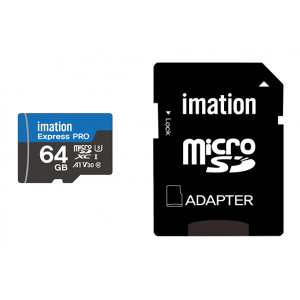 IMATION κάρτα μνήμης MicroSDXC UHS-3, 64GB, Read 90MB/s, Class 10 KR05020003U3