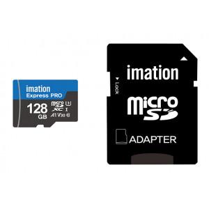 IMATION κάρτα μνήμης MicroSDXC UHS-3, 128GB, Read 90MB/s, Class 10 KR05020004U3