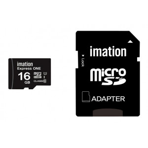 IMATION κάρτα μνήμης MicroSDHC UHS-1, 16GB, Read 45MB/s, Class 10 KR05020006U1