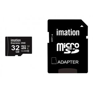 IMATION κάρτα μνήμης MicroSDHC UHS-1, 32GB, Read 45MB/s, Class 10 KR05020007U1