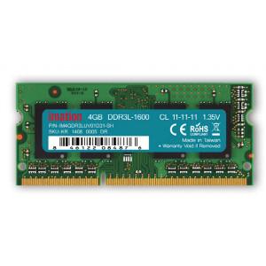 IMATION Μνήμη DDR3L SODimm KR14080005DR, 4GB, 1600MHz, PC3-12800, CL11 KR14080005DR