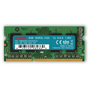 IMATION Μνήμη DDR3L SODimm KR14080013DR, 4GB, 1333MHz, PC3-10600, CL9 KR14080013DR