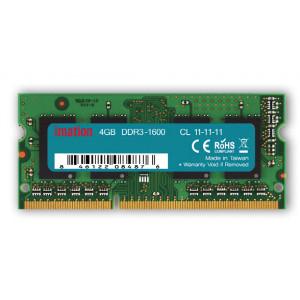 IMATION Μνήμη DDR3 SODimm KR14080014DR, 4GB, 1600MHz, PC3-12800, CL11 KR14080014DR