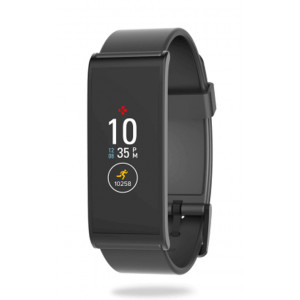 MYKRONOZ Smart Activity Tracker ZeFit4, έγχρωμη οθόνη, IP67, μαύρο KRZEFIT4-BK