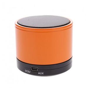 KISONLI Φορητό ηχείο K-S10, Bluetooth, SD/FM/Aux in, Handsfree, πορτοκαλί KSN-K-S10-OR