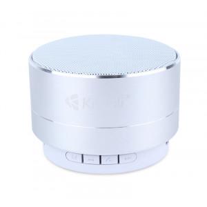 KISONLI Φορητό ηχείο LED-804, BΤ/SD/Aux in/USB/FM, LED, Handsfree, ασημί KSN-LED-804-SL