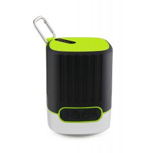 KISONLI Φορητό ηχείο Q1, Bluetooth, SD, LED, 2000mAh, με γάντζο, πράσινο KSN-Q1-GN