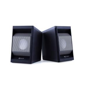 KISONLI Multimedia ηχεία Τ-006, 2.0ch, 2x 3W,  USB/Jack 3.5mm, μαύρα KSN-T-006-BK