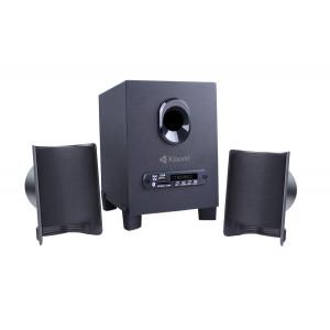 KISONLI Multimedia ηχεία ΤM-6000U, 2.1ch, Bluetooth, 5W & 2x 3W, μαύρα KSN-TM-6000U