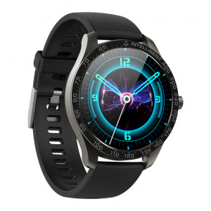 HIFUTURE Smartwatch SAVVY KW35, 1.3, IP68, heart rate monitor, μαύρο KW35-BK