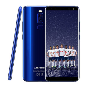 LEAGOO Smartphone S8 5.7 HD IPS, 4G, 3GB/32GB, 8 Core, Quad Cam, Blue L-S8-BL