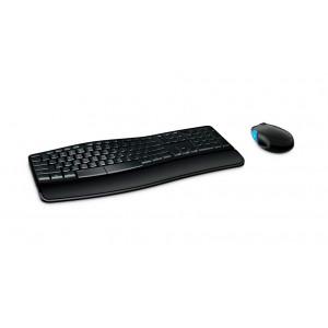 MICROSOFT set ποντίκι & πληκτρολόγιο L3V-00015, ασύρματα, ανατομικά L3V-00015
