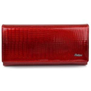HENGHUANG γυναικείο πορτοφόλι LBAG-0008, δερμάτινο, κόκκινο LBAG-0008