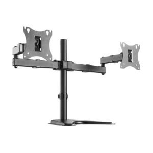BRATECK Universal βάση LDT24-T024 για 2 οθόνες 17 - 27, 2x 7kg LDT24-T024