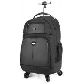 ARCTIC HUNTER τσάντα πλάτης LG1500165-BK, τροχήλατη, θήκη laptop, μαύρη LG1500165-BK