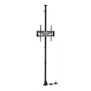 BRATECK στύλος στήριξης οθόνης LP61-44F για monitor 32-55, 25kg LP61-44F