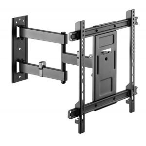 BRATECK επιτοίχια βάση LPA61-443 για οθόνη 32-70, full-motion, 50kg LPA61-443