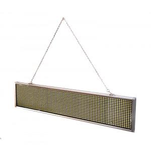 Ηλεκτρονικη πινακιδα κυλιομενων μηνυματων, 44x9.3x1.5cm, λευκο LPL-501W