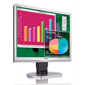 PHILIPS used οθόνη 190B9 LCD, 19 1280x1024, VGA/DVI-D, με ηχεία, FQC M-190B9-FQC