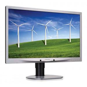 PHILIPS used οθόνη 241B4 LED, 24 Full HD, VGA/DVI-D/DP, με ηχεία, FQ M-241B4-FQ