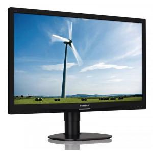PHILIPS used Οθόνη 241S4L LED, 24 Full HD, VGA/DVI-D, FQ M-241S4L-FQ