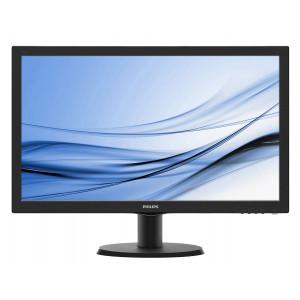 Philips used οθόνη 243V5LHAB LCD, 24 FULL HD, DVI-D/VGA, SQ M-243V5LHAB-SQ