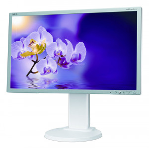 NEC used οθόνη E231W LCD, 23 Full HD, VGA/DVI-D/DisplayPort, FQ M-E231W-FQ