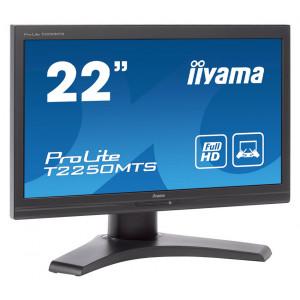 ΙΙΥΑΜΑ used οθόνη T 2250 MTS LCD, 22 Full HD, touch, VGA/DVI-D, SQ M-T2250MTS-SQ
