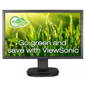 VIEWSONIC used οθόνη VG2439M LED, 24 Full HD, VGA/DVI-D, SQ M-VG2439M-SQ